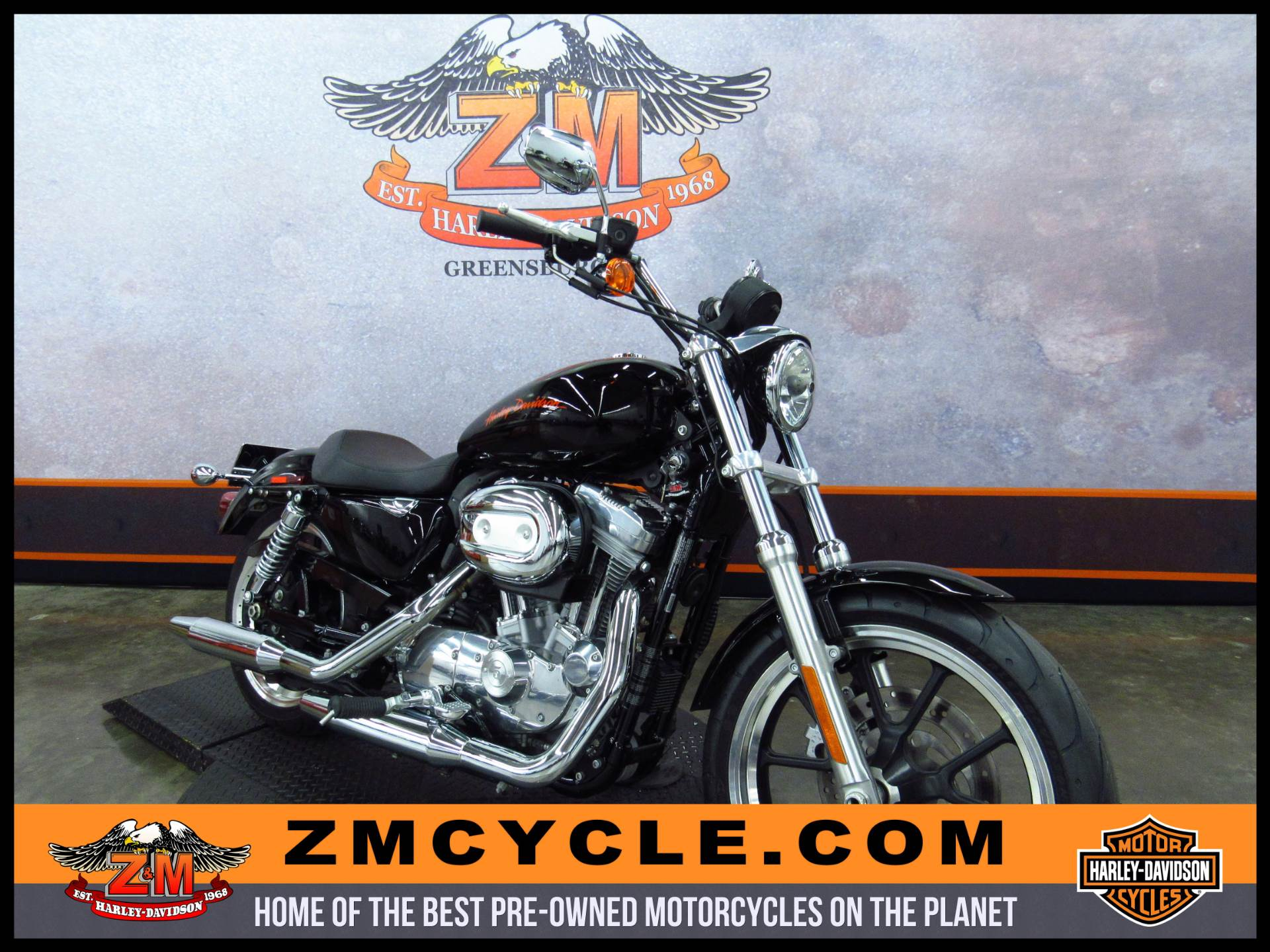2013 Sportster 883 SuperLow