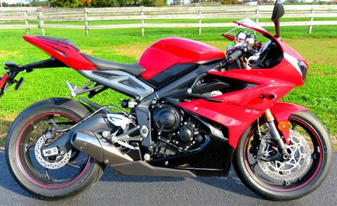 2015 Triumph Daytona 675 ABS in Marengo, Illinois
