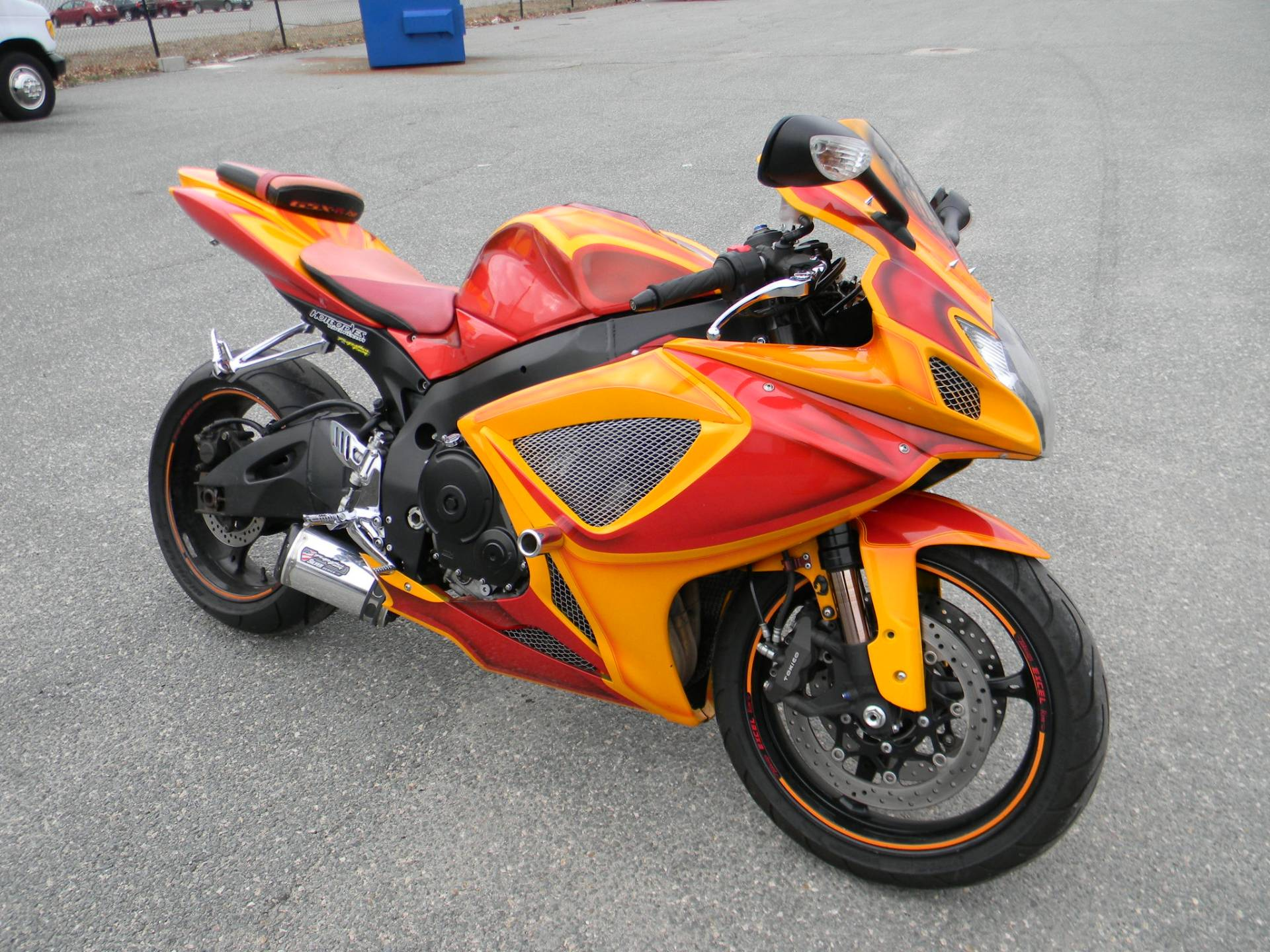 2007 suzuki gsxr 750 for sale springfield ma 579052. Black Bedroom Furniture Sets. Home Design Ideas