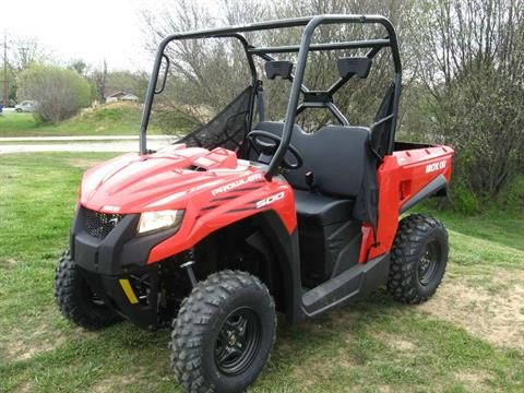 2017 Arctic Cat Prowler® 500 Green in Hendersonville, North Carolina