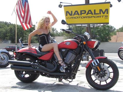 2012 Victory Hammer® S in Austin, Texas