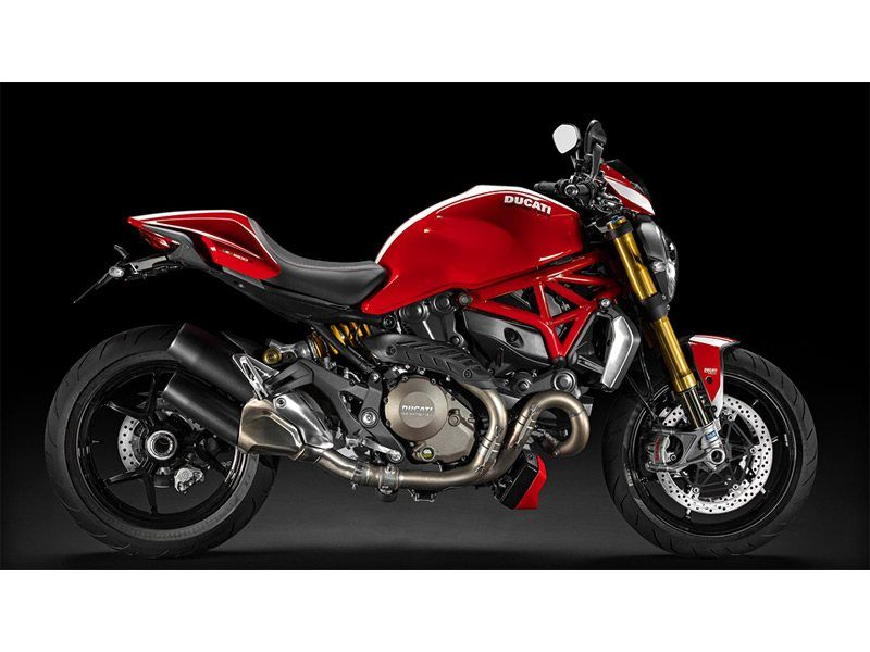 2015 Monster 1200 S Stripe