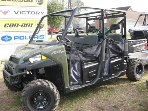 2015 Polaris Ranger Crew® 570 Full-Size in Chesapeake, Virginia