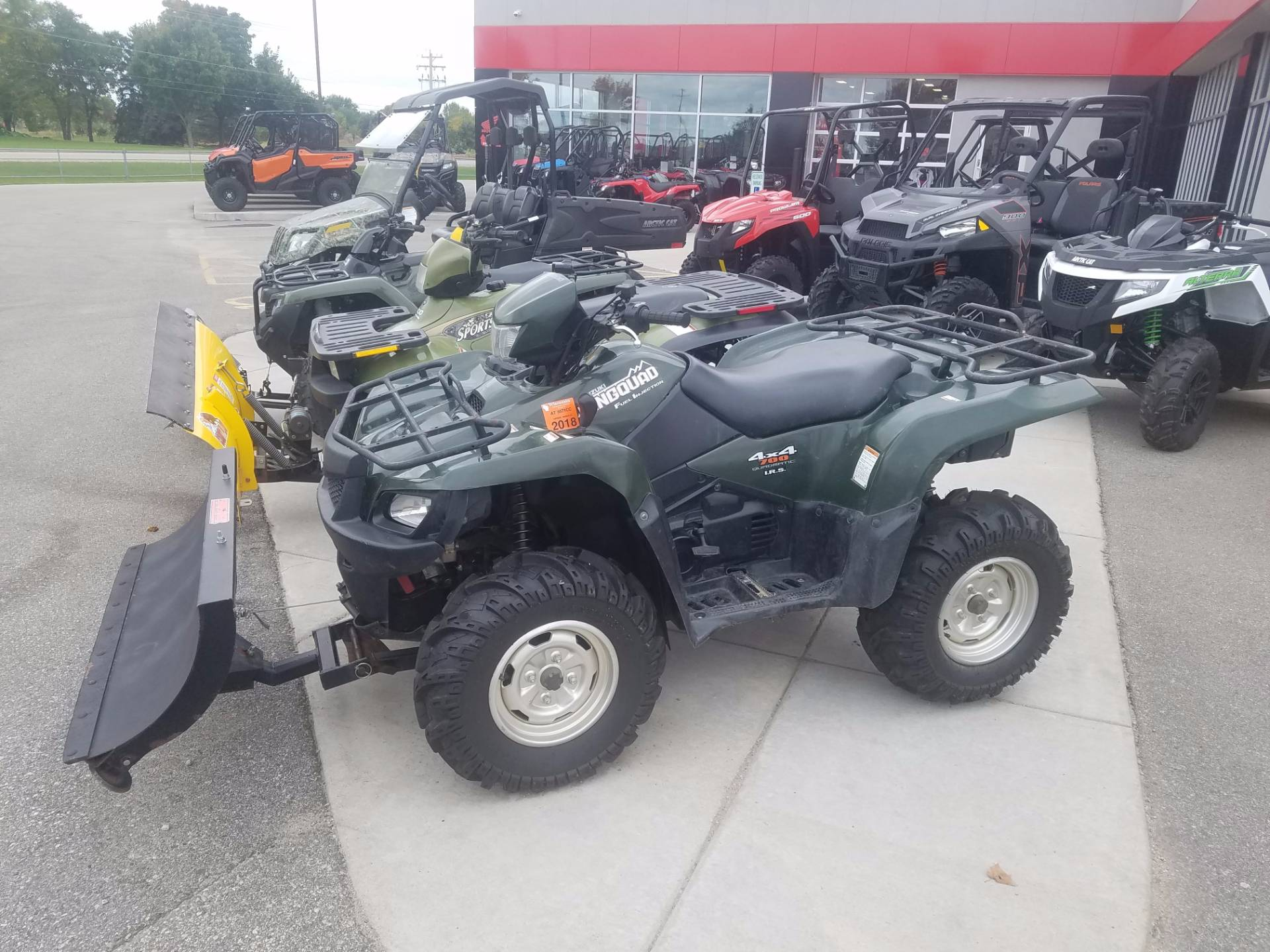 2005 suzuki king quad 700 lt a700x for sale kaukauna wi. Black Bedroom Furniture Sets. Home Design Ideas
