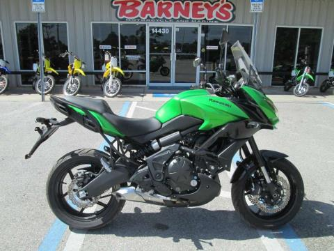 2015 Kawasaki Versys® 650 ABS in Brooksville, Florida