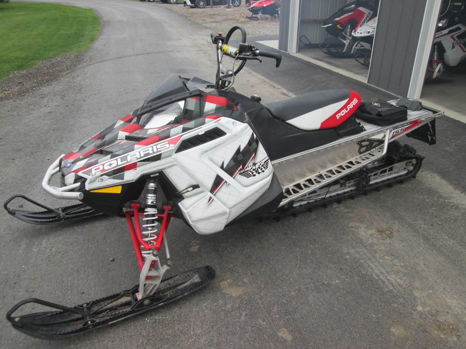2012 Polaris Switchback 800 assault