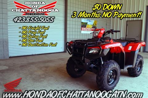 2016 Honda FourTrax® Foreman® Rubicon® 4x4 Automatic DCT in Chattanooga, Tennessee