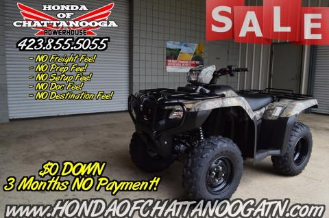 2016 Honda FourTrax® Foreman® 4x4 ES Camo in Chattanooga, Tennessee