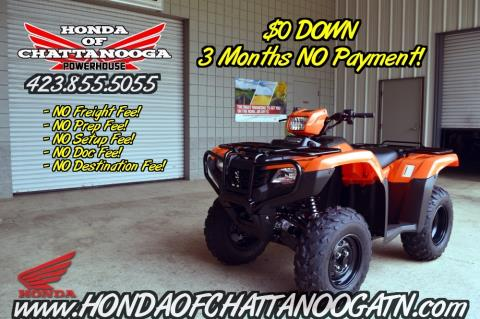 2016 Honda FourTrax® Foreman® 4x4 ES in Chattanooga, Tennessee