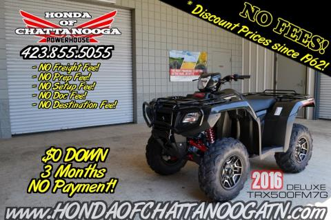2016 Honda FourTrax® Foreman® Rubicon® 4x4 EPS Deluxe in Chattanooga, Tennessee