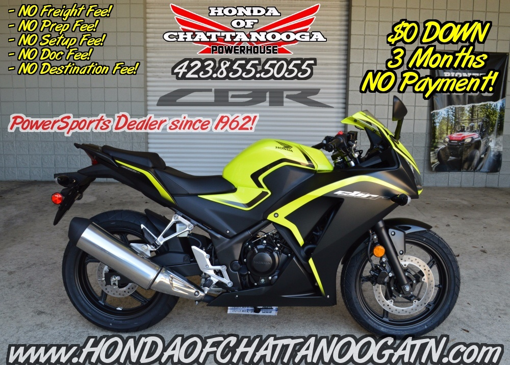 Nissan Dealer Boise 2016 Honda CBR®300R Motorcycles Chattanooga Tennessee N/A