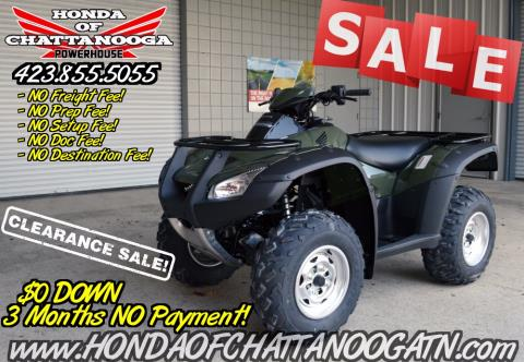 2016 Honda FourTrax® Rincon® in Chattanooga, Tennessee