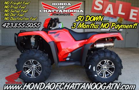 2016 Honda FourTrax® Foreman® Rubicon® 4x4 in Chattanooga, Tennessee