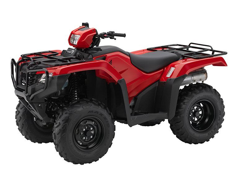 2016 Honda FourTrax Foreman 4x4 Red (TRX500FM1)