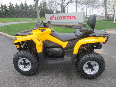 2016 Can-Am Outlander™ L MAX DPS 570 in Riverhead, New York