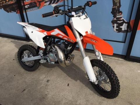 2016 KTM 50 SX in Orange, California