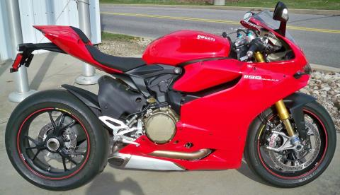 2014 Ducati Superbike 1199 Panigale S in Wexford, Pennsylvania