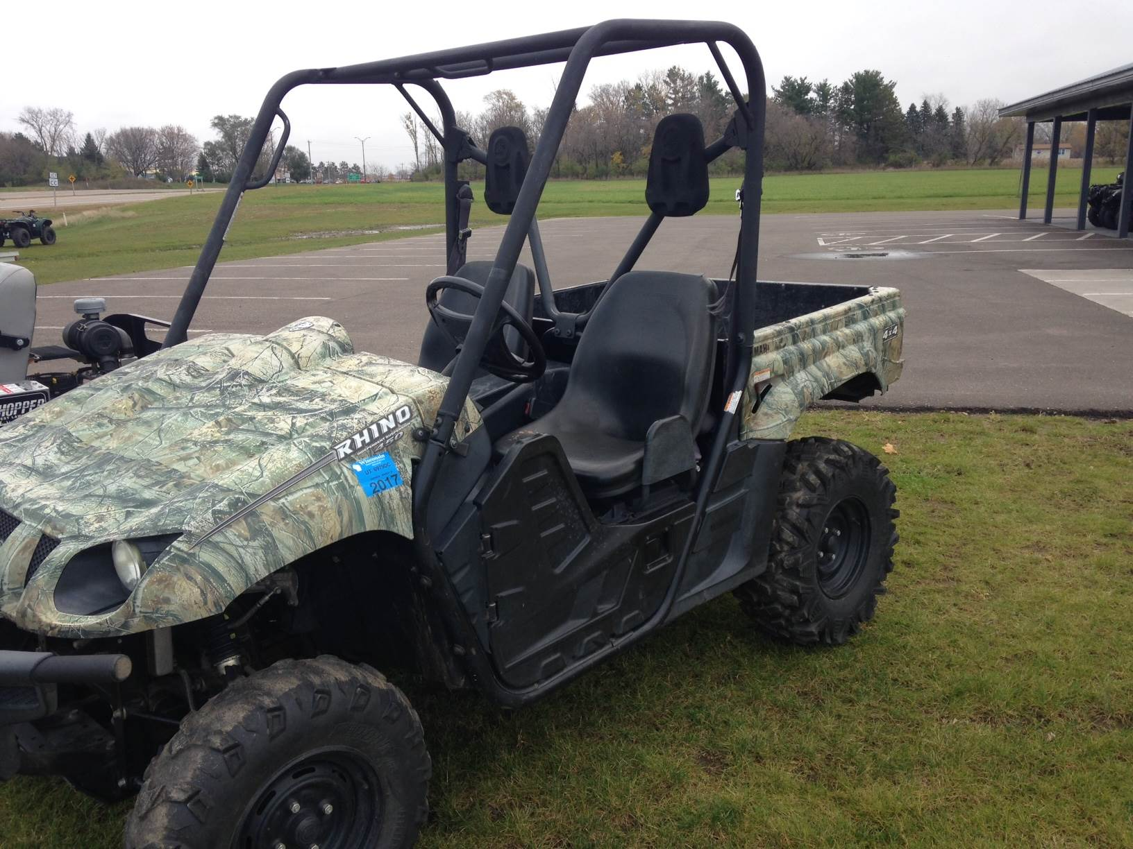 2009 yamaha rhino 450 auto 4x4 for sale new richmond wi for Yamaha grizzly 450 for sale