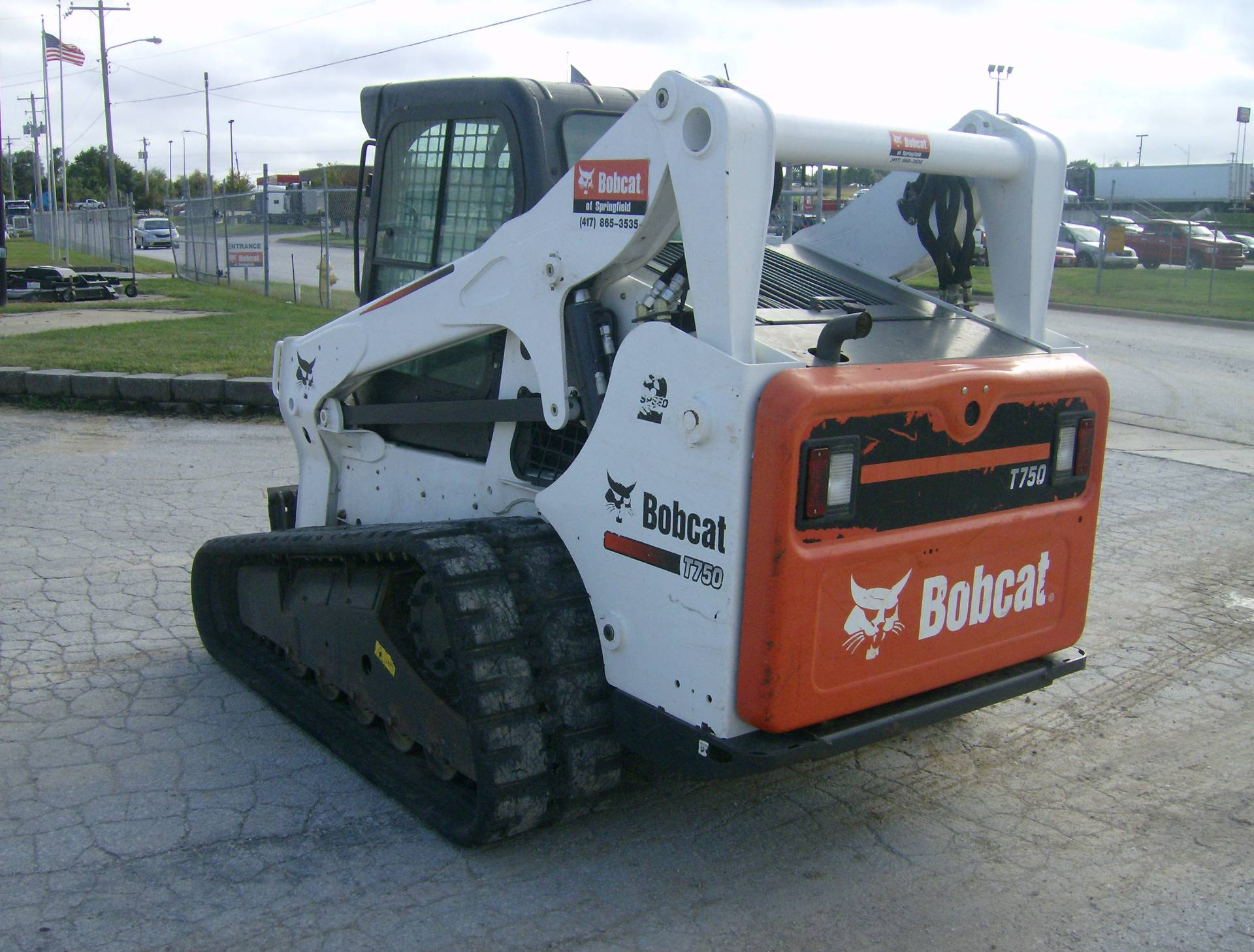2015 Bobcat T750 in Springfield, Missouri