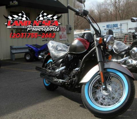 2016 Kawasaki Vulcan® 900 Classic SE in Waterbury, Connecticut