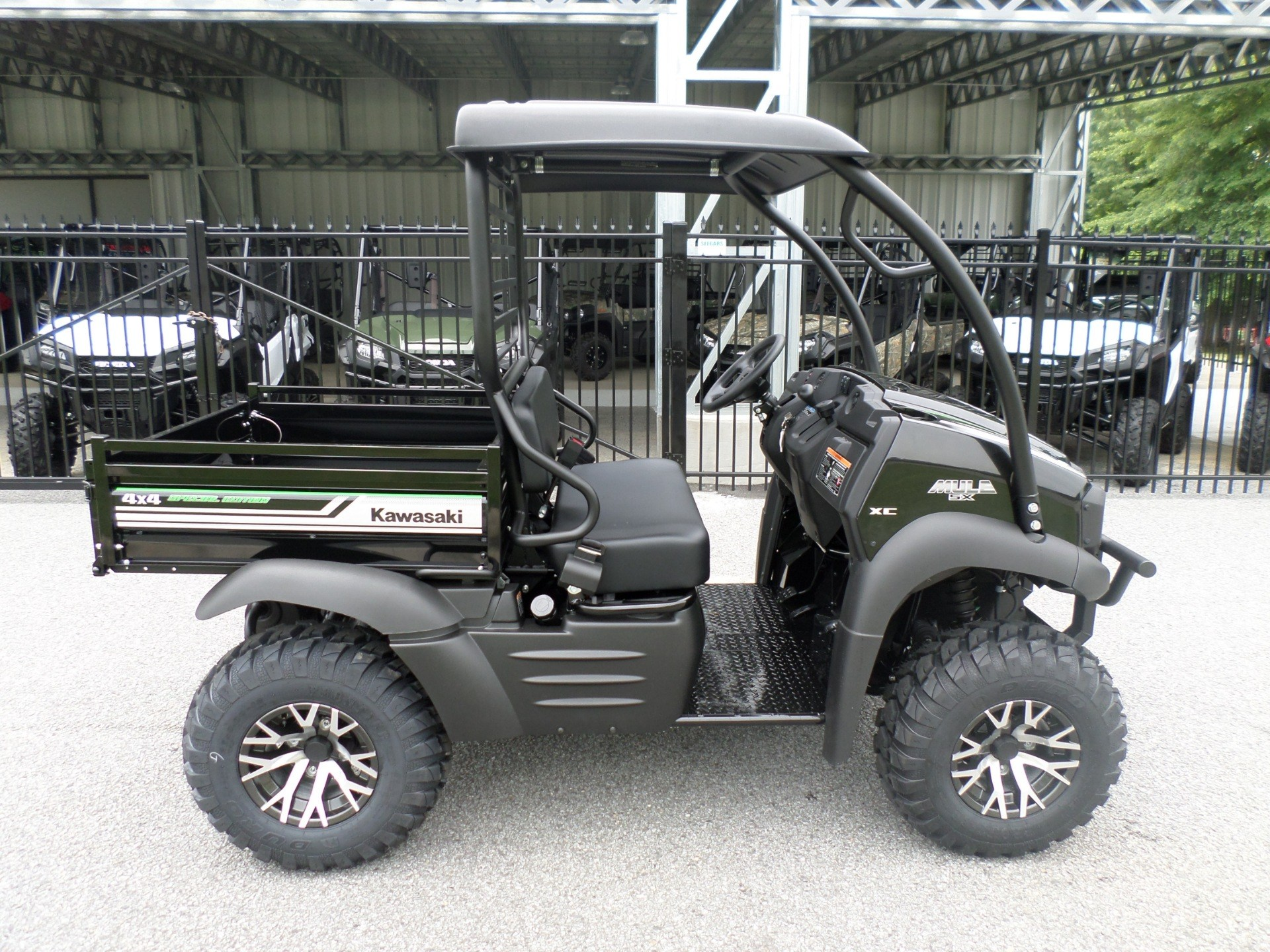 2017 Kawasaki Mule SX™ 4x4 XC SE in Greenville, North Carolina