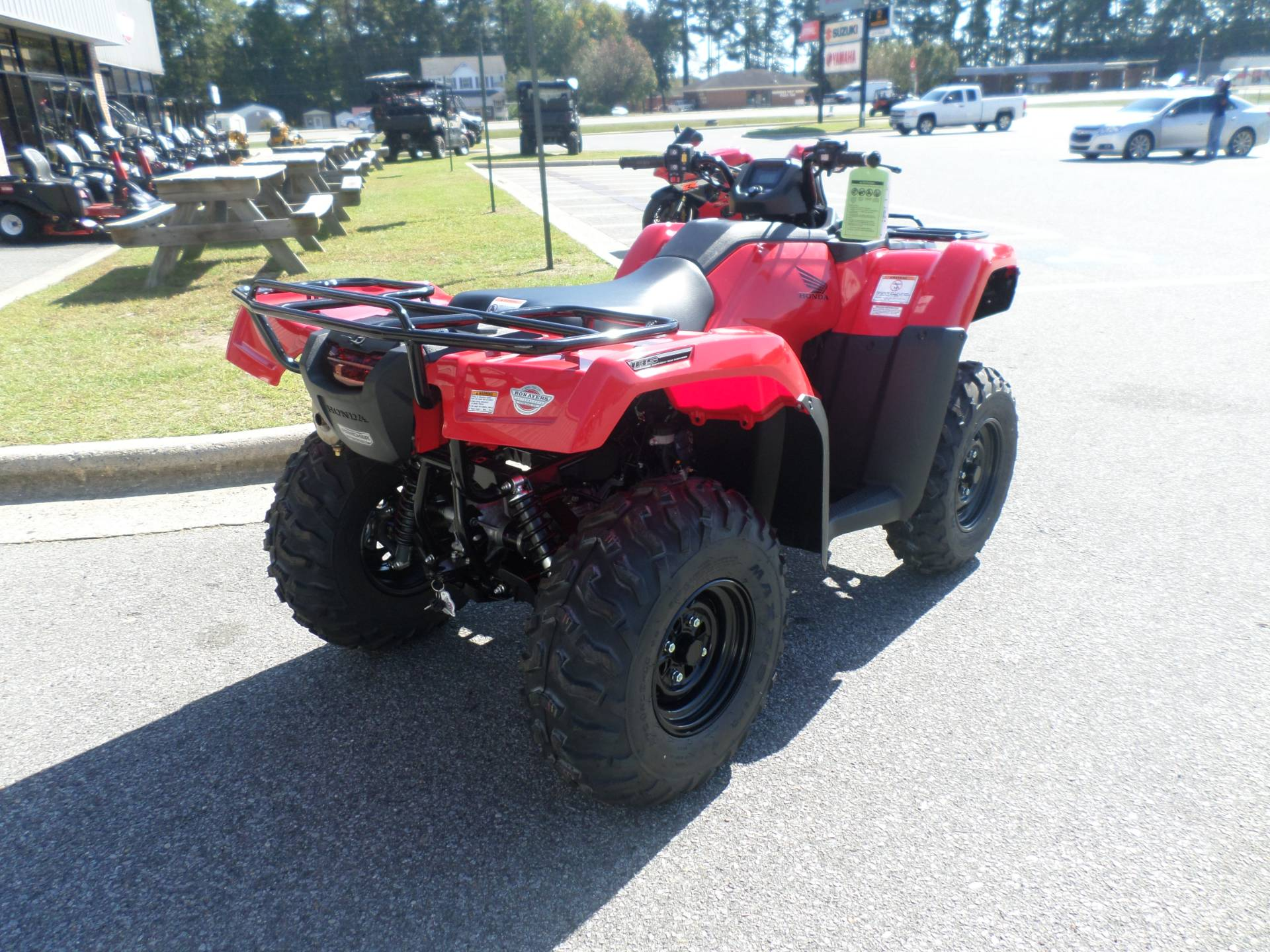 New 2018 Honda Fourtrax Rancher 4x4 Dct Irs Eps Atvs ...
