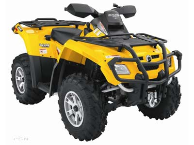 2008 Can-Am Outlander™ XT 650 H.O. EFI in Keokuk, Iowa