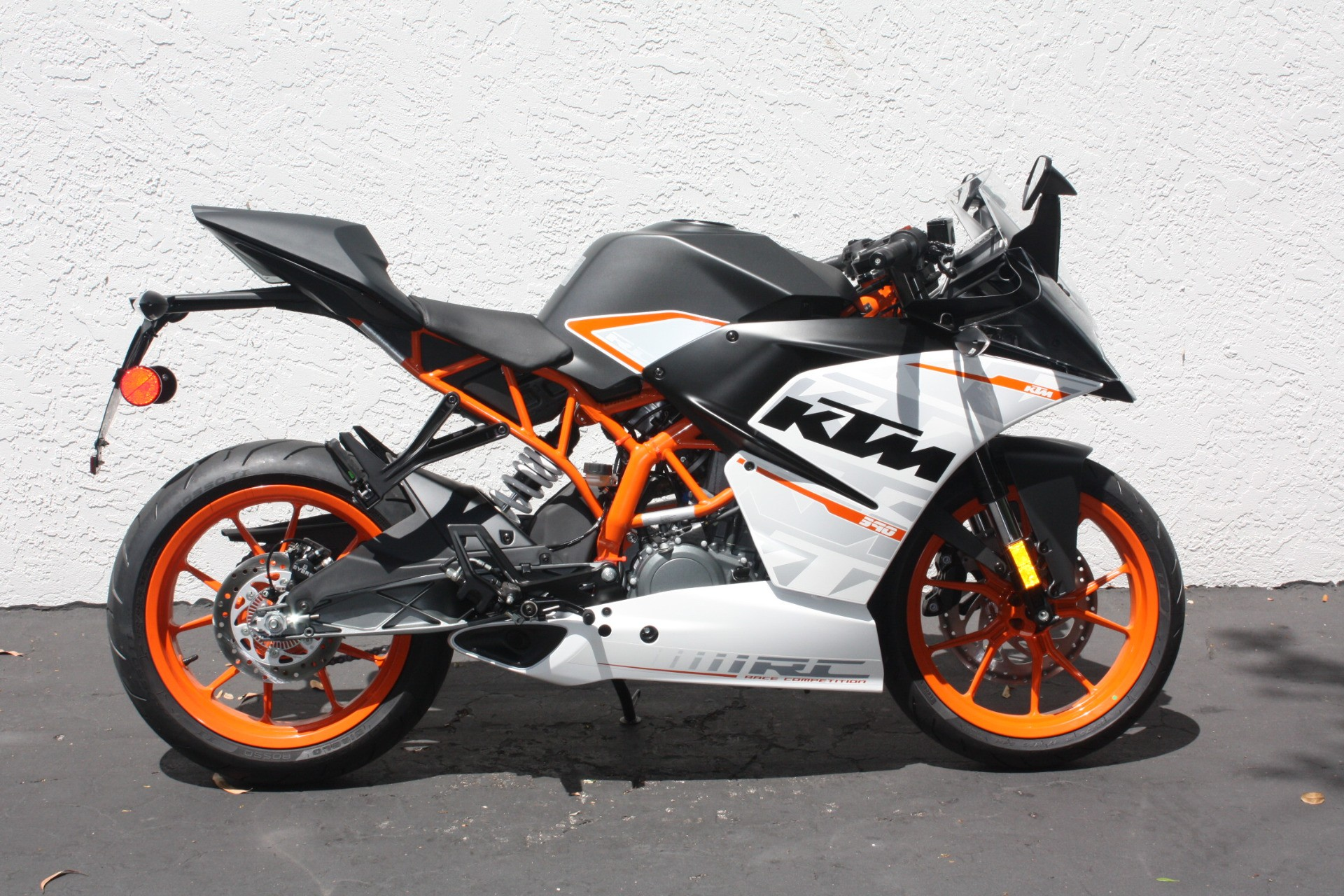 white ktm rc 390 - photo #22