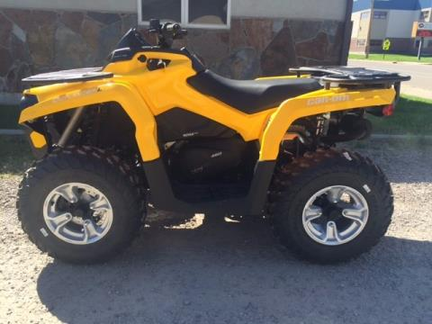 2016 Can-Am Outlander™ L DPS 450 in Ronan, Montana
