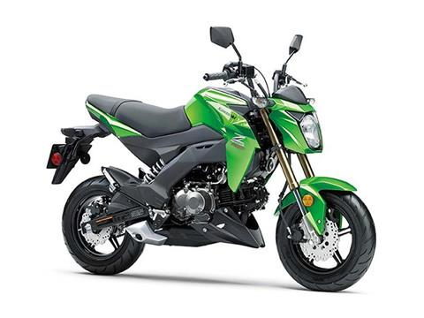 2017 Kawasaki Z125 Pro in Hickory, North Carolina