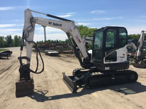 2014 Bobcat E63 in Dassel, Minnesota