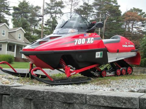 2000 Polaris Indy 700 XC Deluxe 45th Anniversary Edition in Johnstown, Pennsylvania