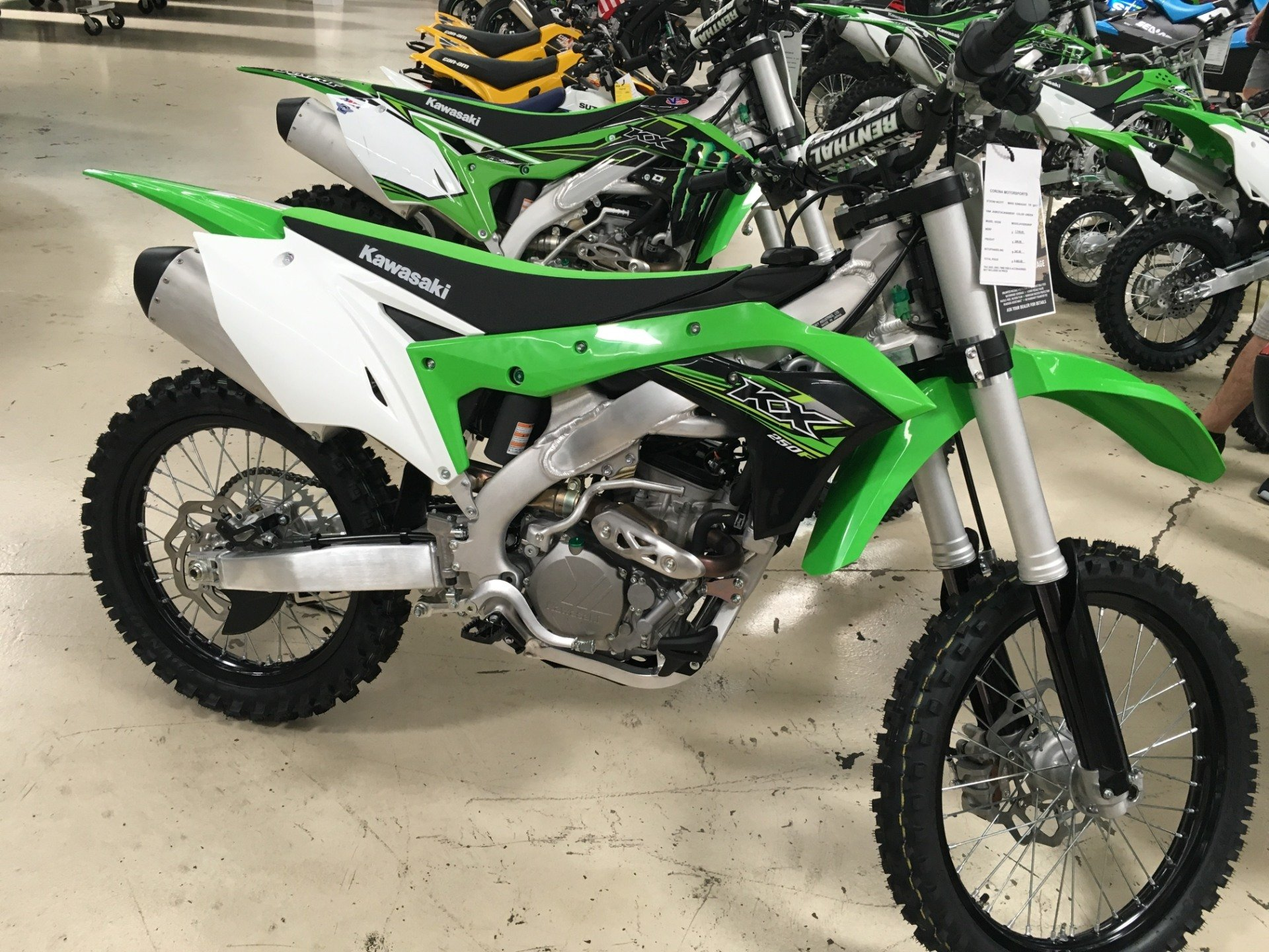 2017 Kawasaki KX™250F in Corona, California