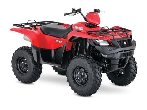 2016 Suzuki KingQuad 500AXi Power Steering in Gastonia, North Carolina