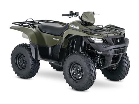 2016 Suzuki KingQuad 750AXi in Gastonia, North Carolina