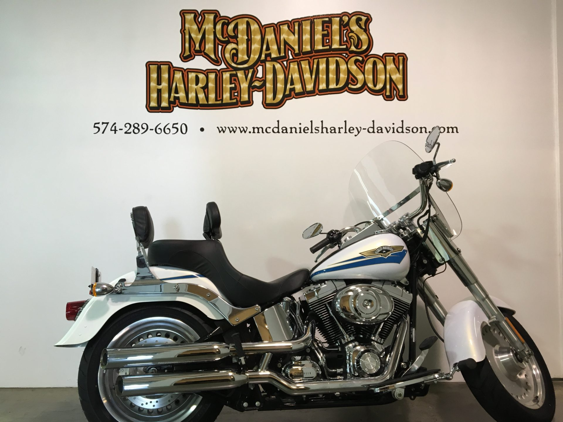 2007 Harley-Davidson Softail® Fat Boy® in South Bend, Indiana
