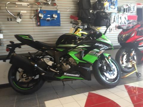 2016 Kawasaki Ninja® ZX™-6R KRT Edition in Highland Springs, Virginia