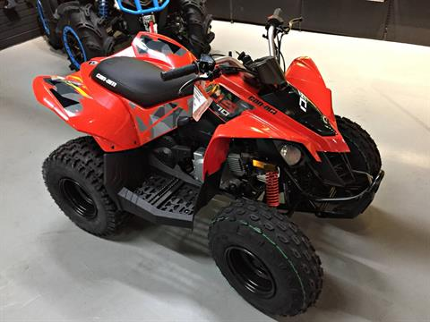 2017 Can-Am DS 70™ in Enfield, Connecticut