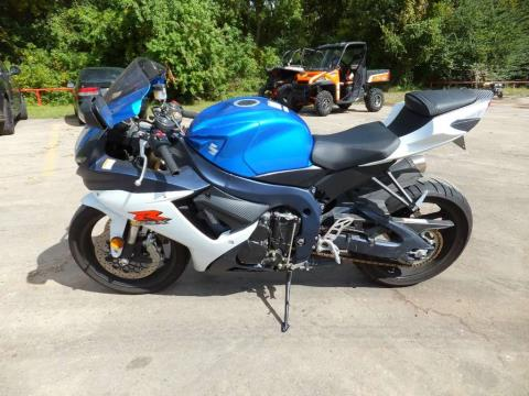 2011 Suzuki GSX-R750™ in Humble, Texas