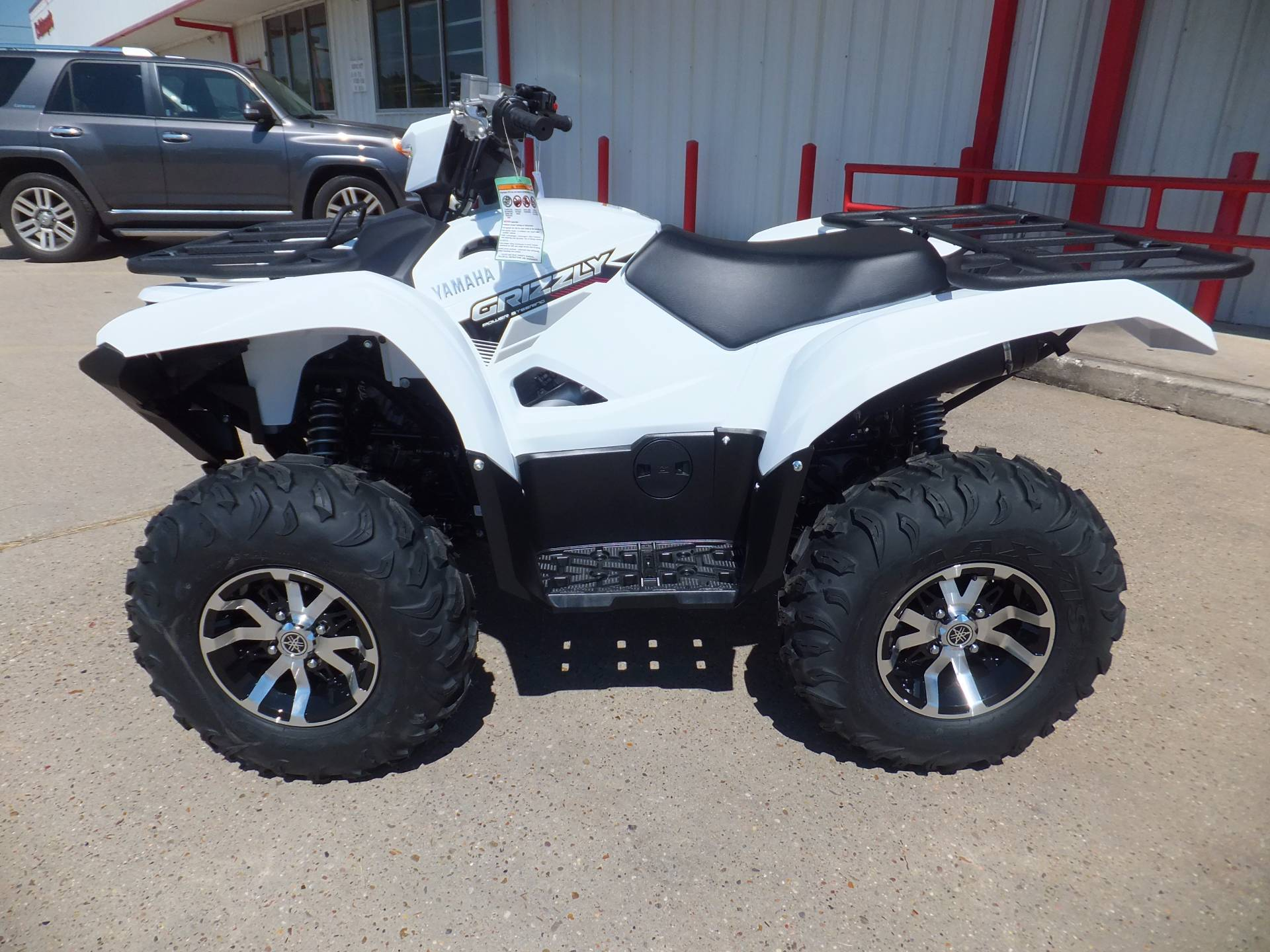 New 2017 yamaha grizzly eps atvs in humble tx for Yamaha grizzly atv