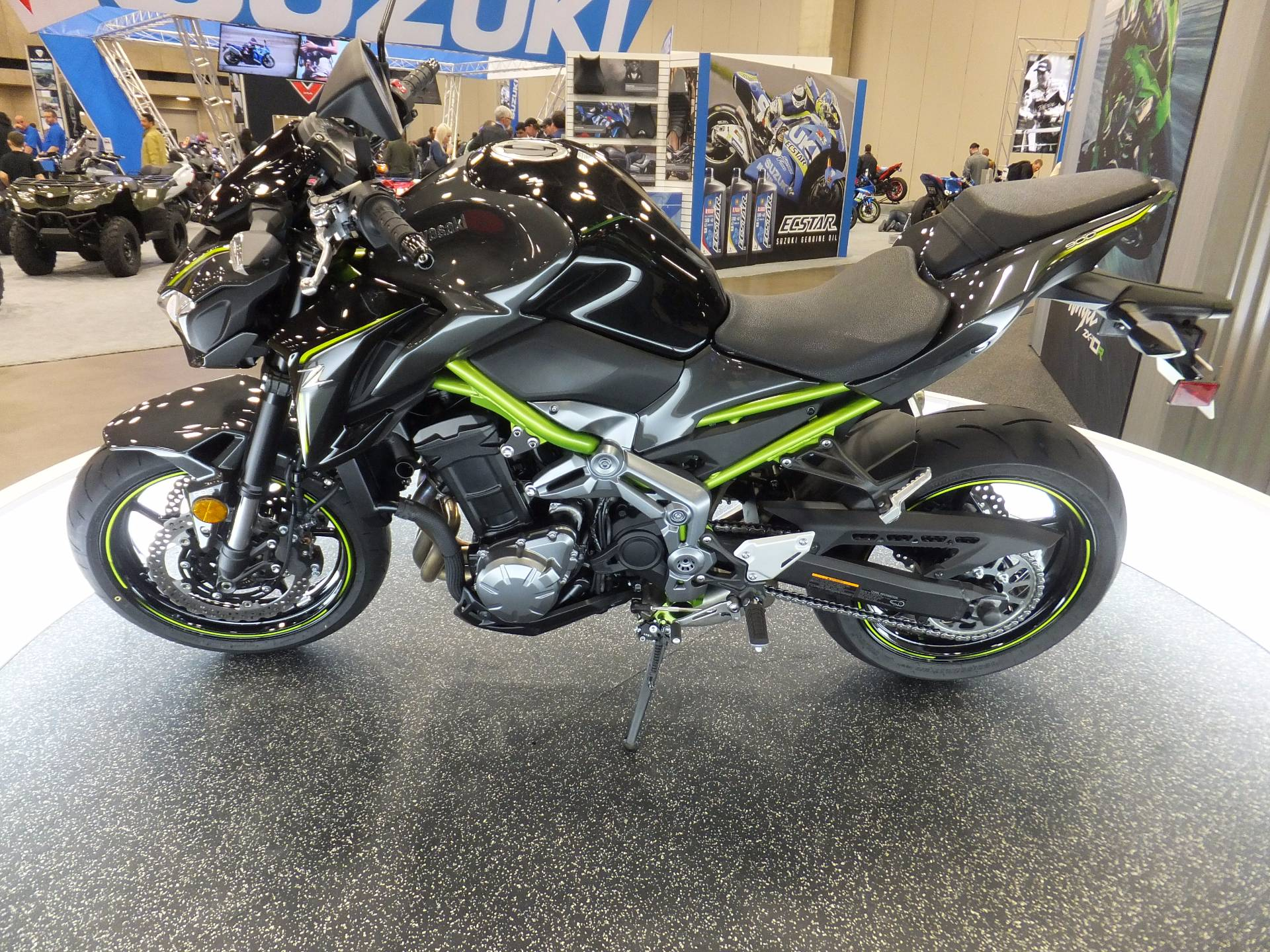 new 2017 kawasaki z900 abs motorcycles in humble tx. Black Bedroom Furniture Sets. Home Design Ideas