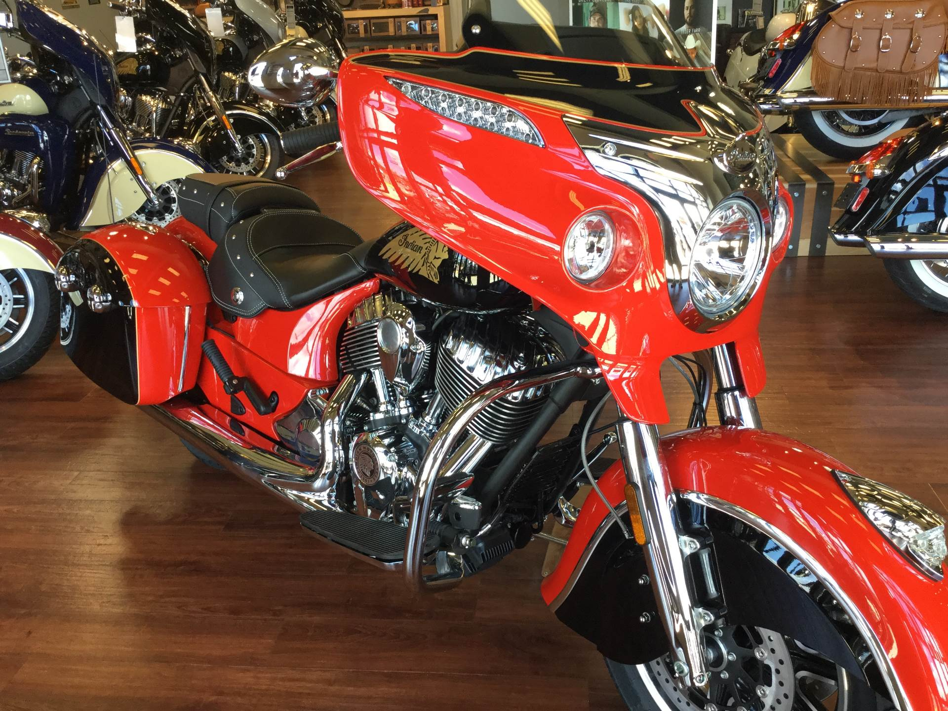 2017 red Indian Chieftain | Indian Motorcycle Forum
