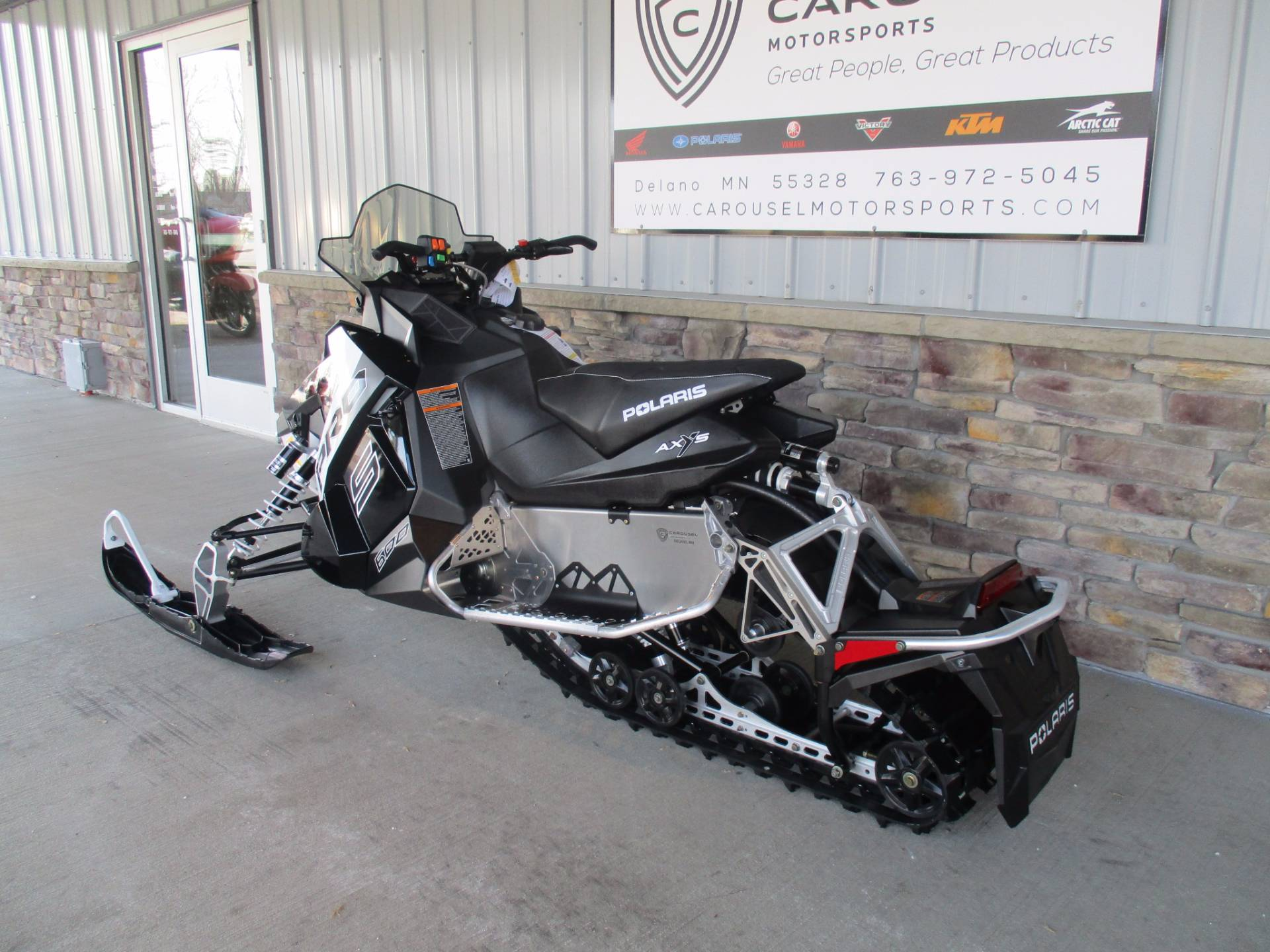2017 Polaris 600 RUSH PRO-S ES in Delano, Minnesota