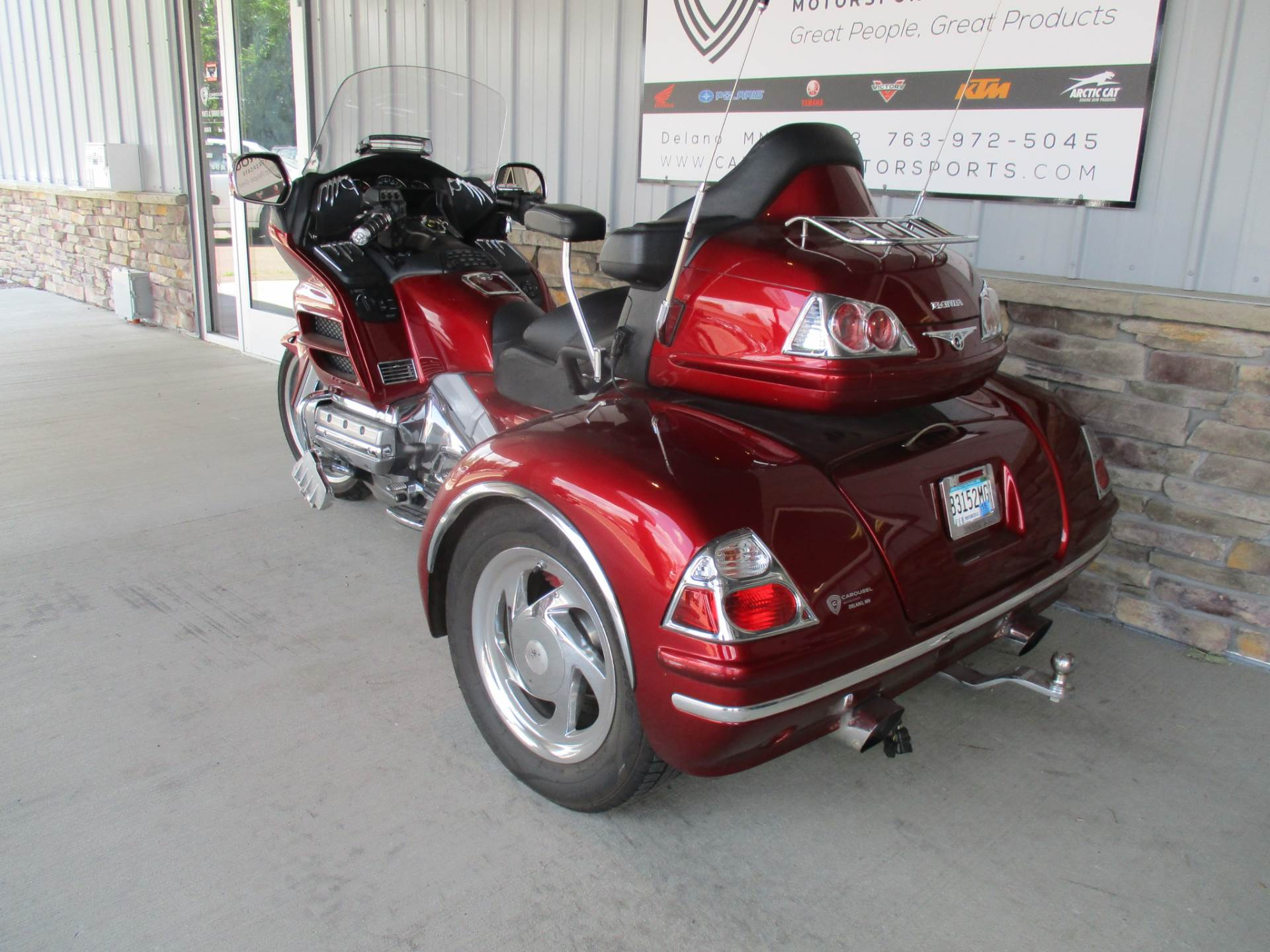2010 Honda Gold Wing® Navi XM in Delano, Minnesota