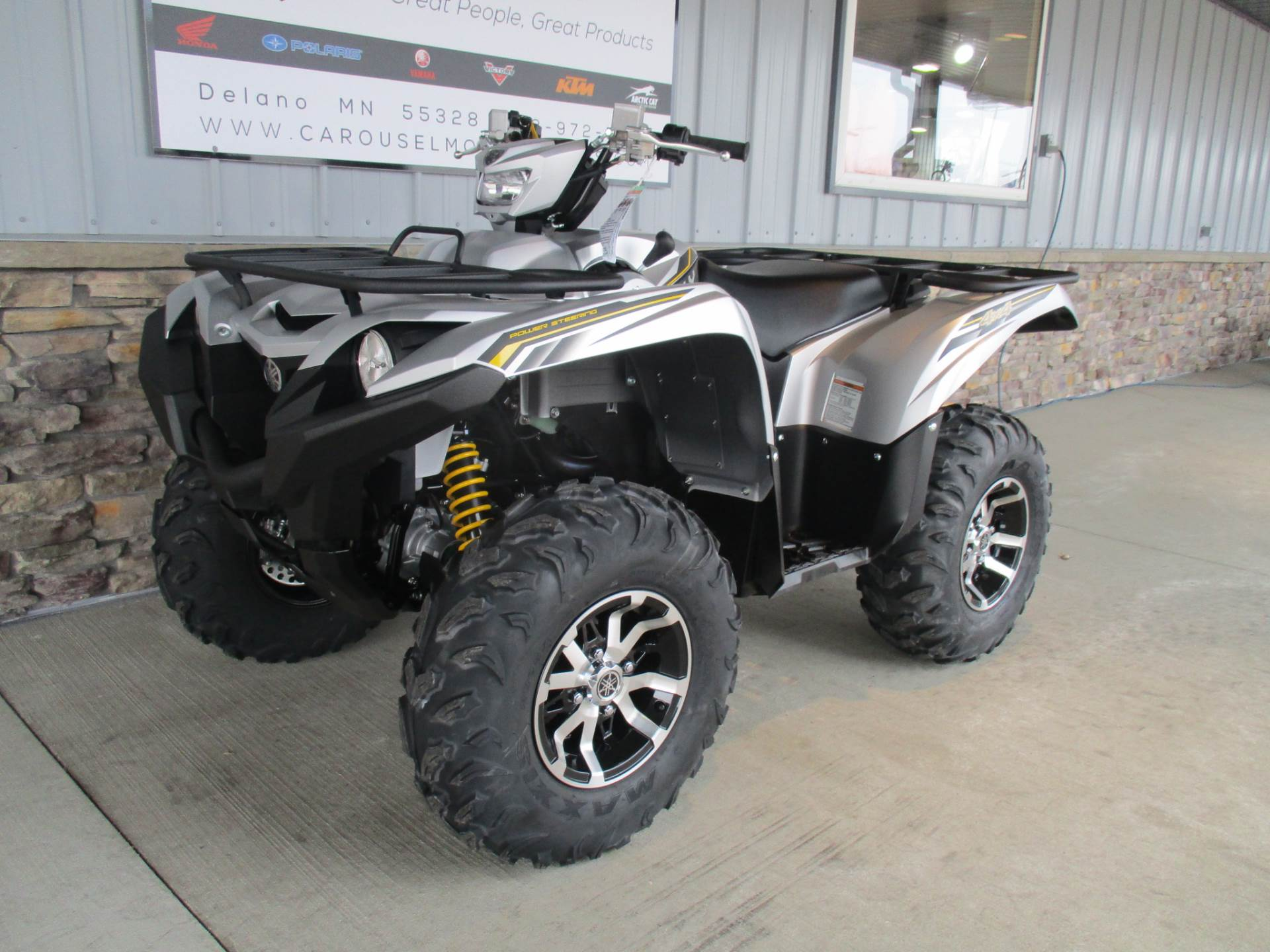 2017 Yamaha Grizzly EPS SE in Delano, Minnesota