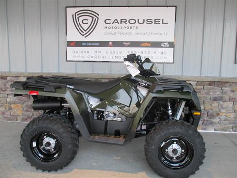 2017 Polaris Sportsman 450 H.O. EPS in Delano, Minnesota