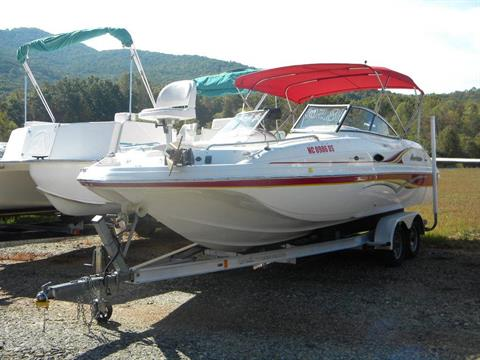 2008 Hurricane SunDeck 217 I/O in Young Harris, Georgia
