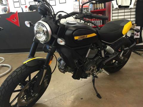 2016 Ducati Scrambler Full Throttle in Austin, Texas