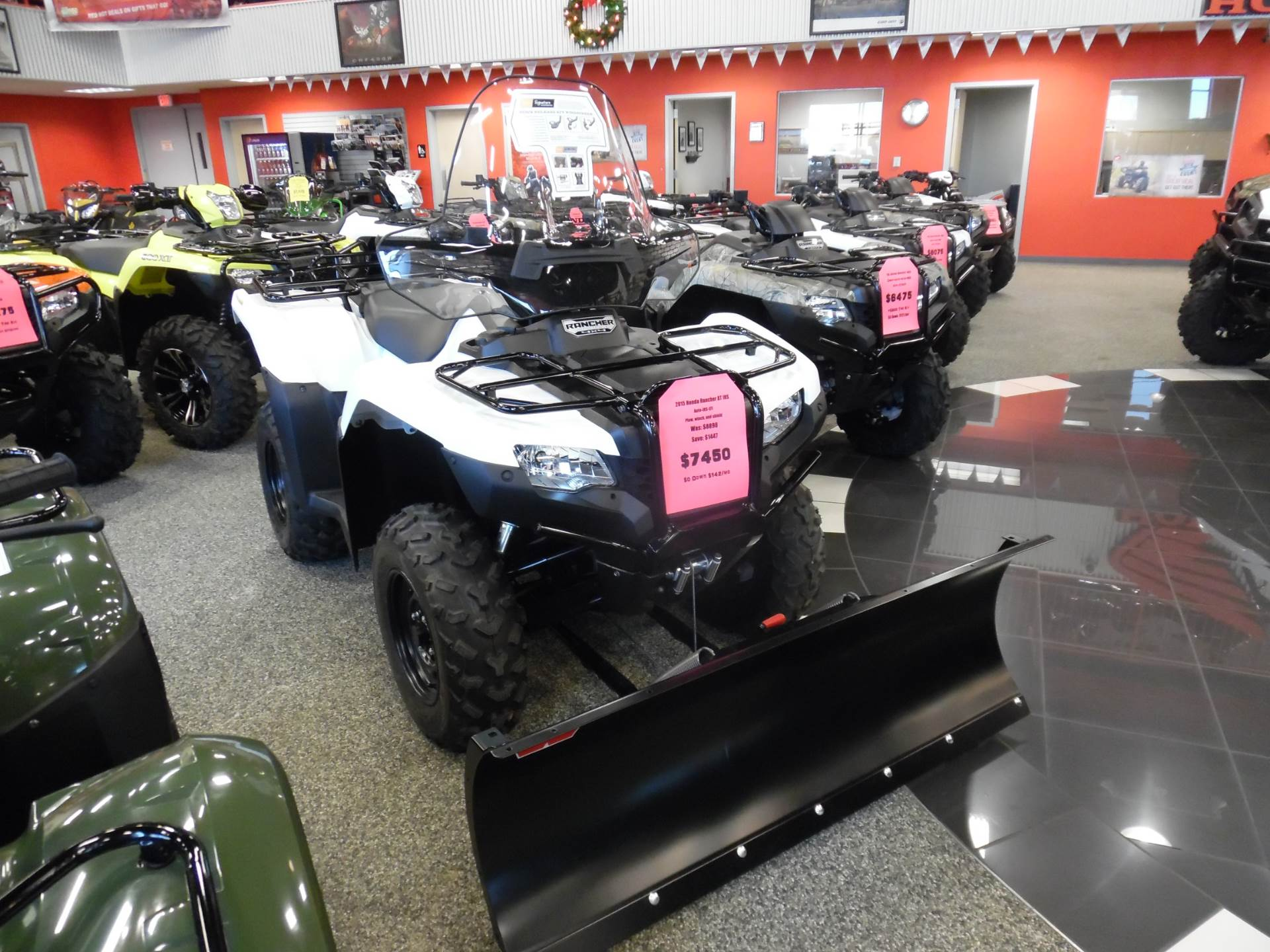 2016 FourTrax Rancher 4X4 Automatic DCT IRS