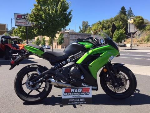 2014 Kawasaki Ninja® 650 in Petaluma, California